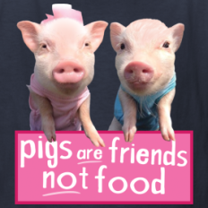 pigs-are-friends-not-food-kids-shirt_design